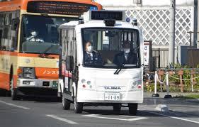 EV自動運転の実験開始 下田市街地で2回目、15日まで|静岡新聞アットエス